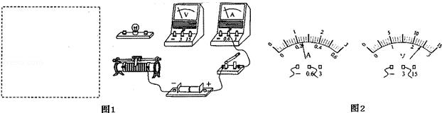 根据要求完成测小灯泡电阻的实验.