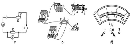 "5v""的小灯泡连到电路中,通过调节滑动变阻器,使小灯泡正常发光,此时"