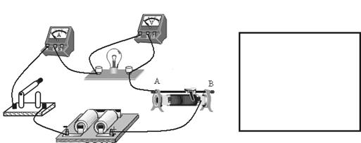 (1)根据图示电路(实物图),在方框内画出电路图.