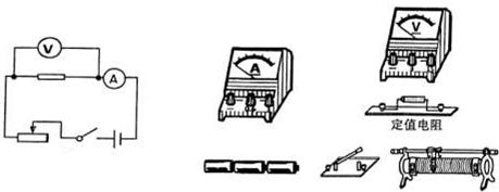"""【题文】图甲是""""探究电压一定时电流与电阻关系""""的电路图."""