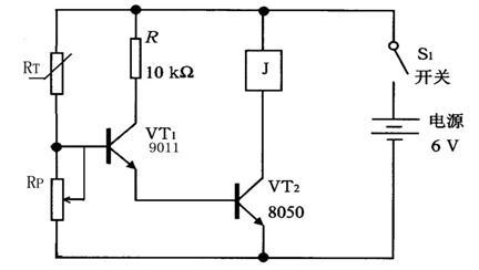 (2)电路图中三极管vt 1,vt 2型号均是                .