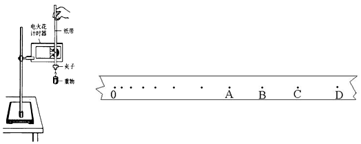 空气对重锤的阻力和打点计时器对纸带的阻力 d.