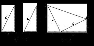 阅读下面的材料:勾股定理神秘而美妙,它的证法多种多样,下面是教材中图片
