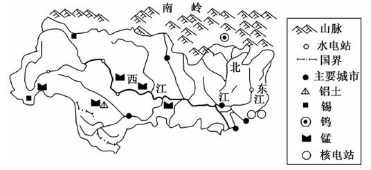 阅读图文资料,完成下列要求。 无定河是黄河的一级支流之一,发源于定边县白于山北麓,向东北流经毛乌素沙漠南缘,后向东南流经黄土高原,沿途接纳众多支流,在清涧县注入黄河。 图甲示意无定河流域及水系结构,图乙示意1976~2010年无定河流域土地利用类型的动态变化。  (1)无定河因流量不定、深浅不定等而得名。
