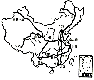 地图 简笔画 手绘 线稿 310_264