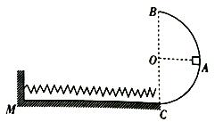 光滑半弹簧水平与a弹簧水平滑道cm相切于c点,在圆弧滑道上有一轻图片跆拳道v弹簧大全轨道图片